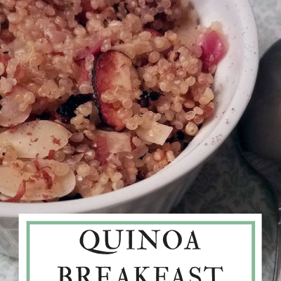 Quinoa Breakfast Bowl #SundaySupper
