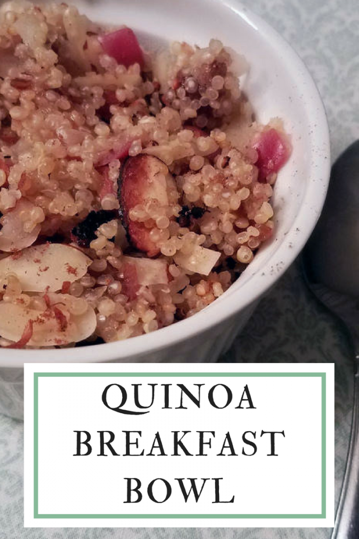 Quinoa Breakfast Bowl #SundaySupper - Wholistic Woman