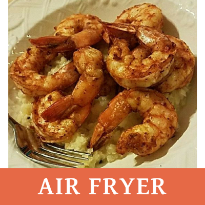 Air Fryer Cajun Shrimp #SundaySupper
