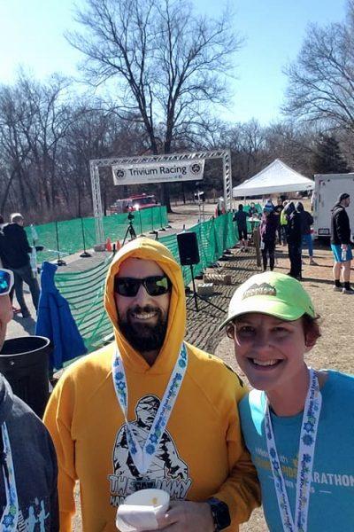 WTF (Winter Trail Fest) Half Marathon Recap