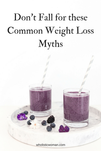 Don't Fall for these Common Weight Loss Myths