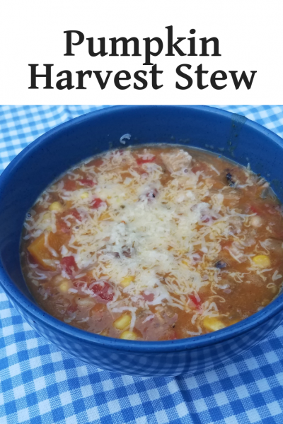 Pumpkin Harvest Stew #PumpkinWeek